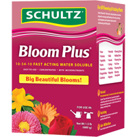 Schultz Bloom Plus Fast Acting Water Soluble